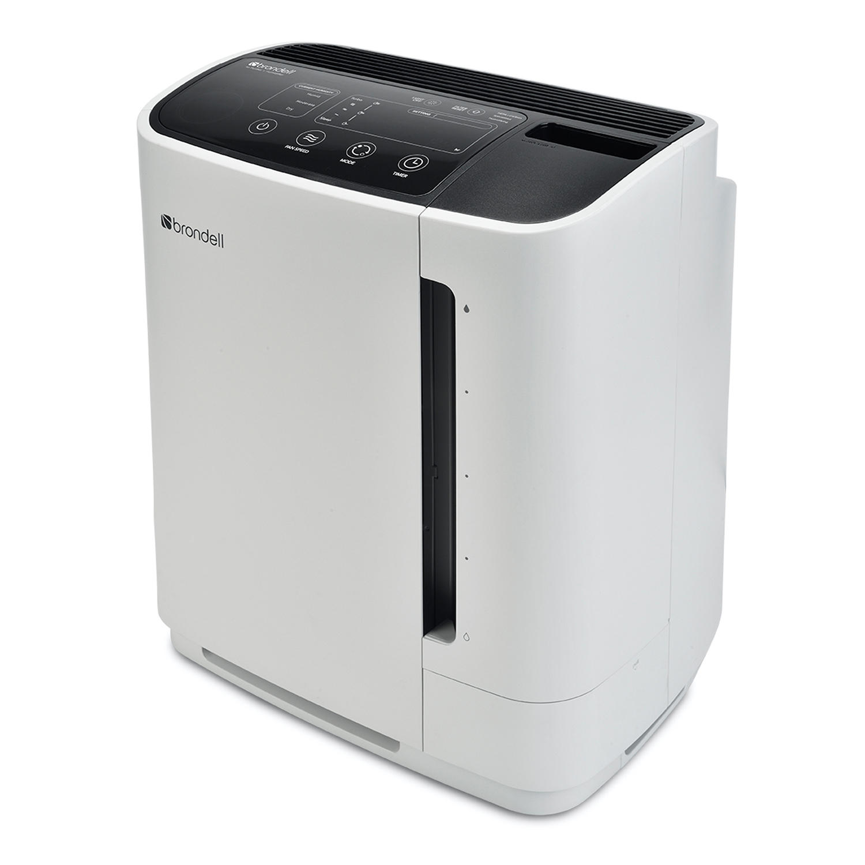 Brondell PR50-W O2+ Revive TrueHEPA Air Purifier + Humidifier