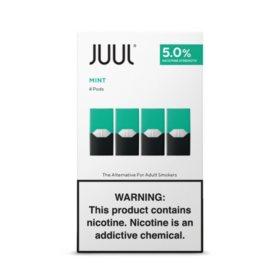 JUUL E-Liquid Mint Flavor 5% Nicotine Pod (4 pk.)