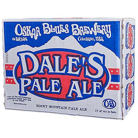 Oskar Blues Dale's Pale Ale (12 fl. oz. can, 12 pk.)