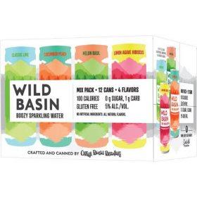 Oskar Blues Wild Basin Sparlking Water Mix Pack (12 fl. oz. can, 12 pk.)