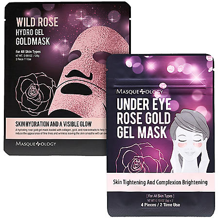 Masqueology Wild Rose Gel Mask Set (12 ct.)