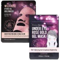 Masqueology Wild Rose Gel Mask Set (12 ct.)