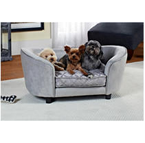 Enchanted Home Pet Ultra Plush Quicksilver Pet Bed