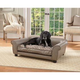 Enchanted Home Pet Rockwell Pet Sofa, Large Dogs Up To 75 lbs