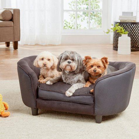 Enchanted Home Pet Hudson Sofa Bed, Black