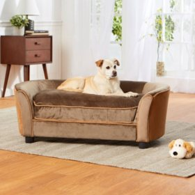 Enchanted Home Pet Ultra Plush Panache Pet Sofa, Large Dogs Up To 60 lbs (Choose Your Fabric)
