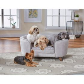 Enchanted Home Pet Quicksilver II Pet Sofa, For Pets Up To 30 lbs.