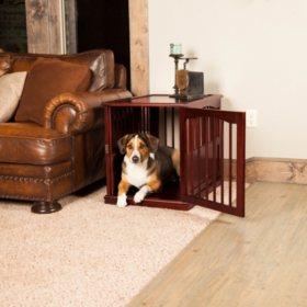Primetime Petz End Table Crate, Walnut (Choose Your Size)