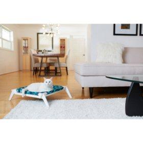 Primetime Petz Designer Pet Lounge with Reversible Fabric Hammock (Choose Your Color)