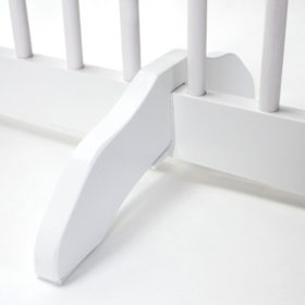 Primetime Petz Support Feet for 360 Degree Configurable Pet Gate Collection, White