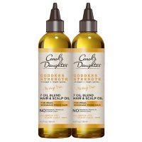 Carol's Daughter Goddess Strength 7 Oil Scalp and Hair Oil Duo Pack