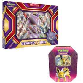 Gengar EX Box and Jolteon Elemental Powers Tin
