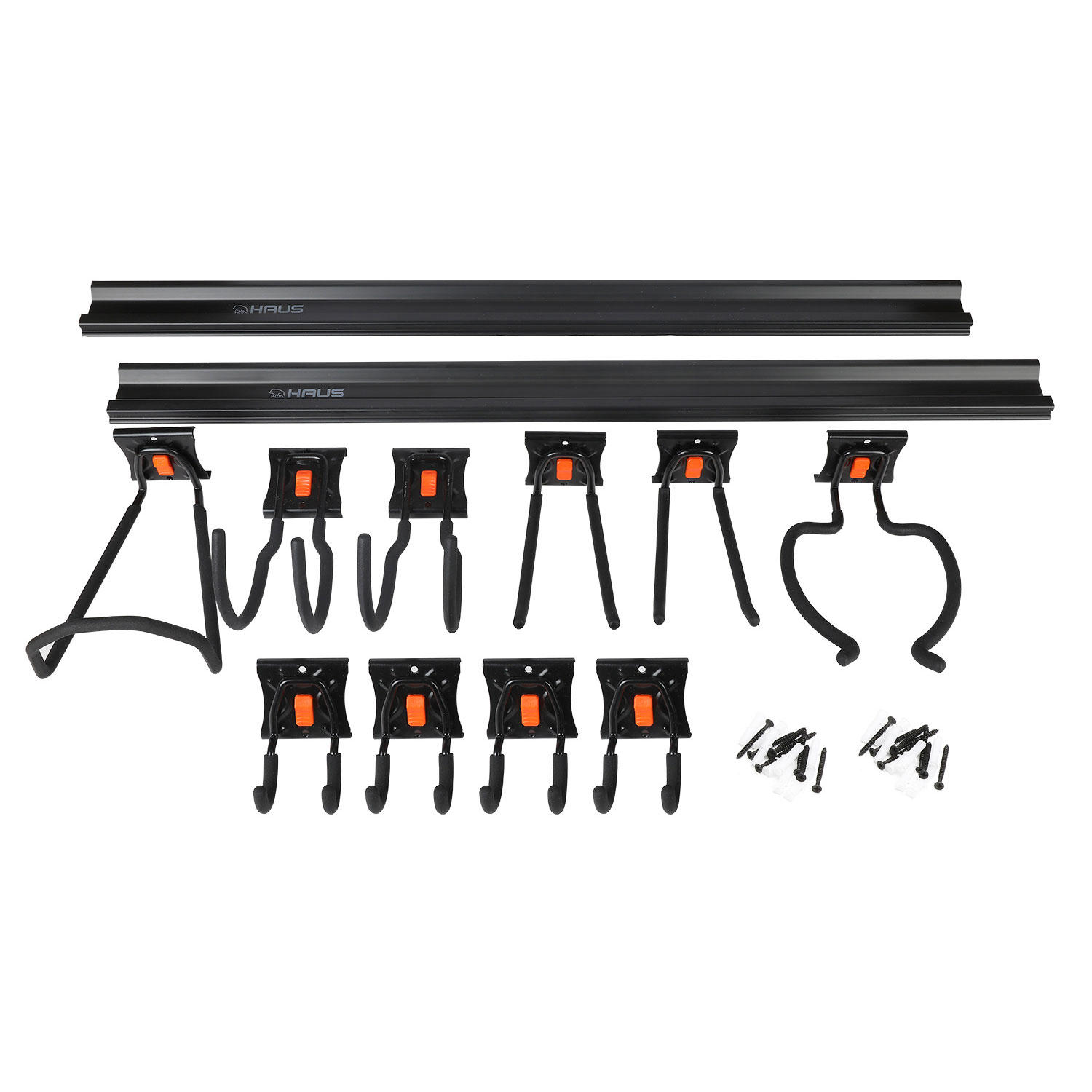 Haus 12-Piece Garage Organization Kit