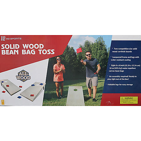 Solid Wood Bean Bag Cornhole Toss