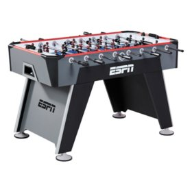 "ESPN 56"" Foosball Table with Bonus Table Cover"
