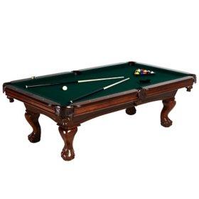 Barrington Hawthorne 100'' Billiard Table with Bonus Table Cover