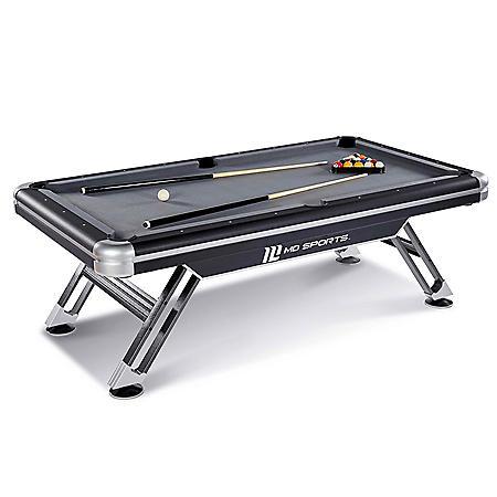 MD Sports Titan 7.5' Billiard Table with Bonus Table Cover