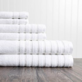 ADI Burke 6-Piece Towel Set (Assorted Colors)