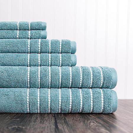 ADI Burke 6-Piece Towel Set (Assorted Colors)