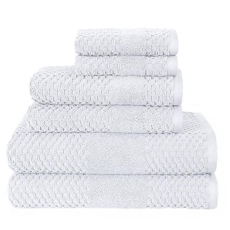 Harlequin Diamond Textured 6-Piece Bath Towel Set