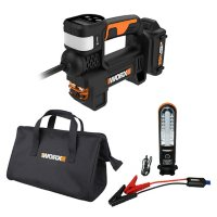 Worx 20V PowerShare Portable Jump Starter and Inflator Kit