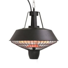 Westinghouse WES31-1520C Electric Hanging Infrared Patio Heater, 1500W