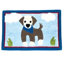 Faze Three 100% Cotton Kids Mat - Dog