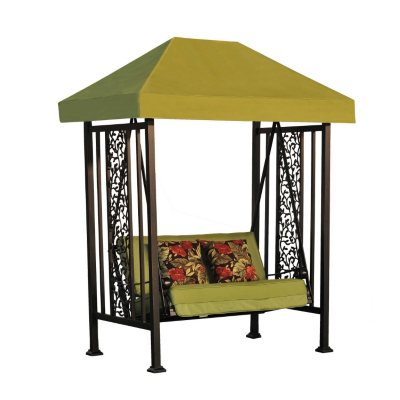 Vineyard Swing With Toss Pillows Sam S Club