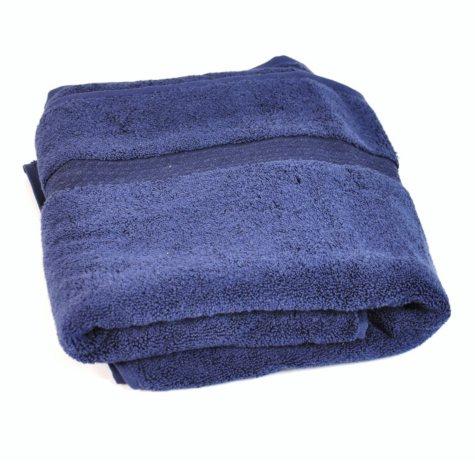 100% Cotton Bath Towel - Navy