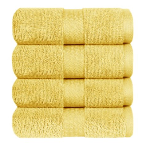 100% Cotton Hand Towel - Camel