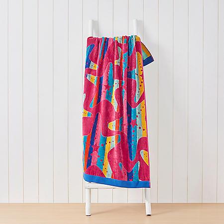 "Member's Mark Kids' Beach Towel 30"" x 60"" (Assorted Colors)"