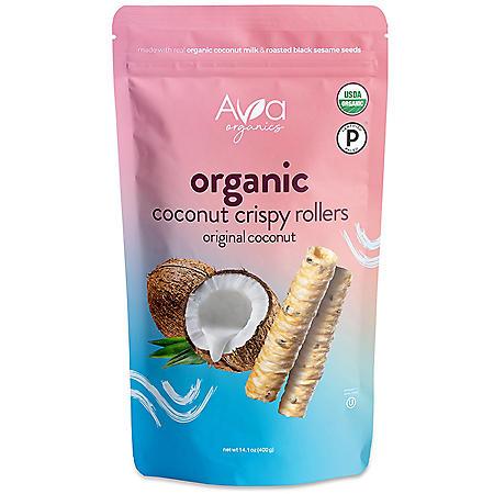 Ava Organic Coconut Crispy Rollers (14.1 oz.)