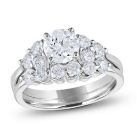 2.00 CT. T.W. Diamond Engagement Ring Set (H-I, SI2)