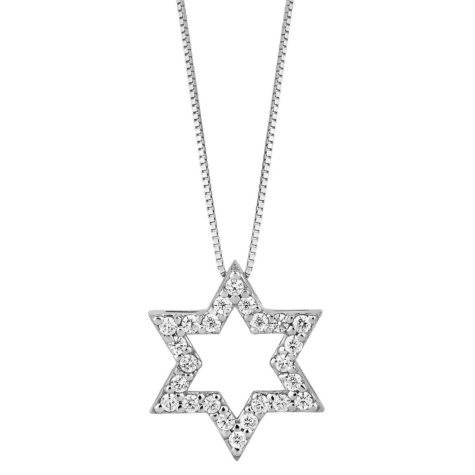 0.38 ct. t.w. Star of David Diamond Pendant (H-I, I1)