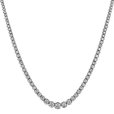 16 ct. t.w. Diamond Riviera Necklace in 14K Gold (H-I, I1)
