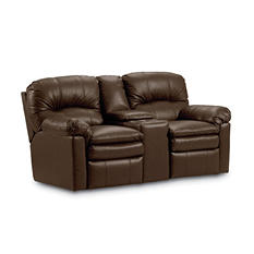 Lane Furniture Henry Top-Grain Leather Dual Reclining Loveseat