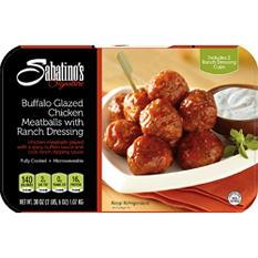 Sabatino's Signature Buffalo Glazed Chicken Meatballs with Ranch Dressing (38 oz.)