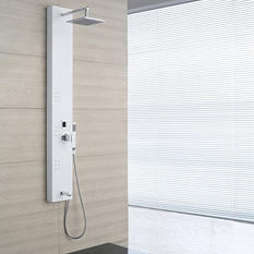 OVE Decors 3-Jet Shower Tower System - White