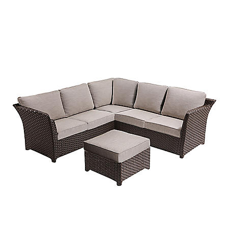 Charmant OVE Decors Clara 3 Piece Outdoor Sectional