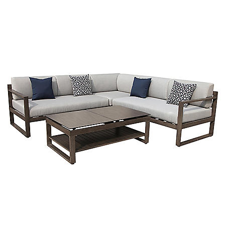 OVE Decors Melia Outdoor Sectional Set
