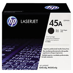 HP 45A Original Laser Jet Toner Cartridge, Black (18,000 Yield)