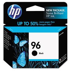 HP 96, (C8767WN) Black Original Ink Cartridge