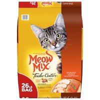 Meow Mix Tender Centers Dry Cat Food, Salmon & White Meat Chicken (26 lbs.)