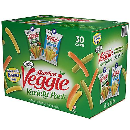 Sensible Portions Veggie Snacks Variety (1 oz. each, 30 ct.)