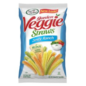 Sensible Portions Veggie Straws, Zesty Ranch Garden (23.5 oz.)