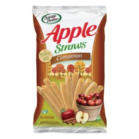 Sensible Portions Cinnamon Apple Straws (20oz)