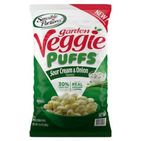 Sensible Portions Sour Cream & Onion Garden Veggie Puffs (13.5 oz.)