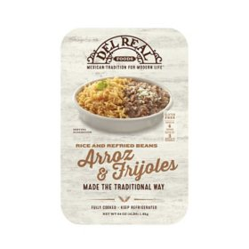 Del Real Foods Rice and Refried Beans Combo (4 lbs.)