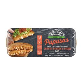 Del Real Foods Chipotle Chicken and Cheese Pupusa (10 ct.)