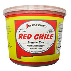Senor Pino's Red Chile - 56 oz. tub